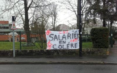 Ezanville : grève à Eleusis pour mieux soigner